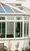 P Shape DIY Conservatories